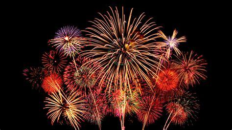 Wallpaper Fireworks, New Year, HD, 5K, Celebrations, #7289