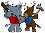 Elephant and Donkey Fight | Ali Spagnola's Portfolio