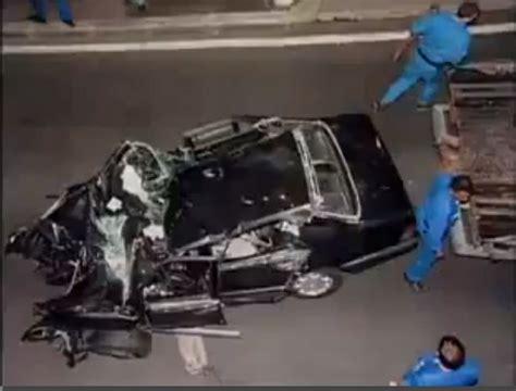 Princess Diana car crash photo