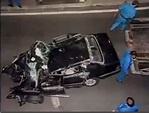 Princess Diana car crash photo
