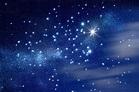 Foto mural Cielo Estrellado Azul astros