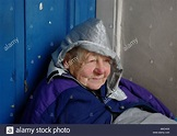 Tramp Old lady homeless London England proud WOMAN WOMEN ...