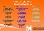 Ancient Egyptian Inventions |26 Things Inverted By Egyptians