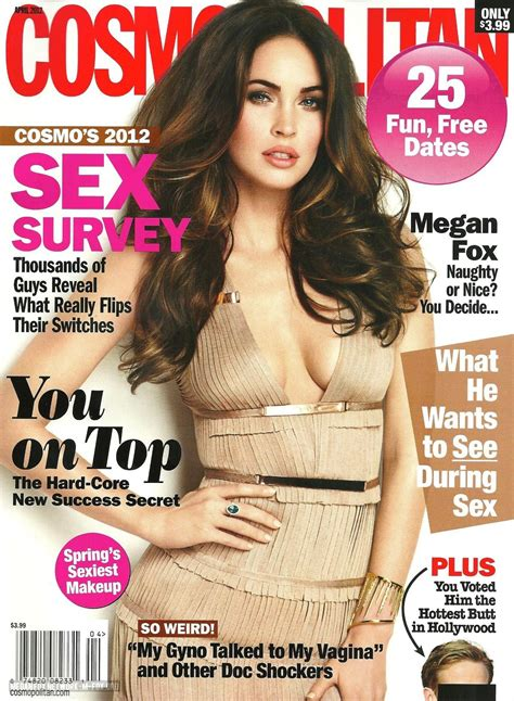 Cosmopolitan - April Issue - Megan Fox Photo (29359467 ...