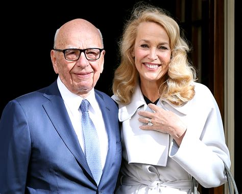 Rupert Murdoch, Jerry Hall Marry at Spencer House in London