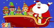 Five Little Elves | Christmas Song For Kids | Super Simple Songs