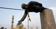 Statue of Saddam Hussein falls - Photos - Iraq War 10 ...