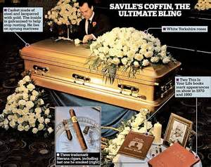 Jimmy Savile funeral: Golden Coffin taken on farewell tour ...