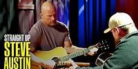 Luke Combs Teaches Steve Austin to Play the Guitar [BONUS] | Straight Up Steve Austin | USA Network