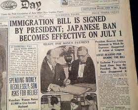 Go Back > Gallery For > Immigration Act Of 1924