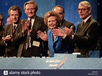 Prime Minister Margaret Thatcher at Conservative Party ...