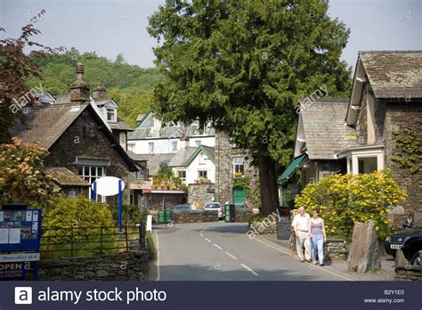 Grasmere Village Lake District National Park Cumbria ...
