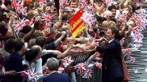 May 2, 1997: Labour win general election by a landslide to ...