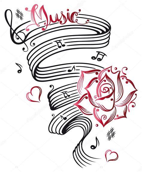 Fotos: notas musicales | Hoja de música, notas musicales ...