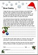 ... Printable Letter From Santa Claus Template Printable letter to santa