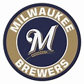 "Milwaukee Brewers Logo Roundel Mat - 27"" Round Area Rug"
