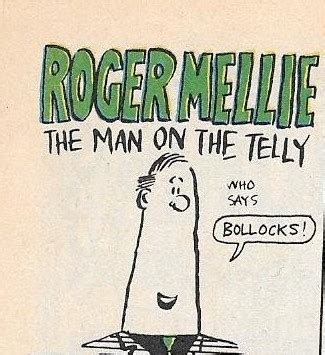 Roger Mellie, the Man on the Telly | Albion British Comics ...