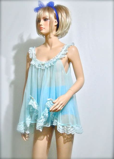 1960s Lingerie Baby Doll Vintage Nightie. . . Remember ...