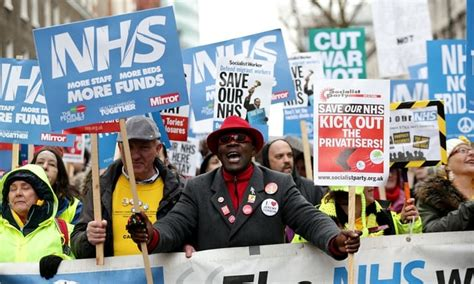 As People In UK Rally For The National Health Service ...