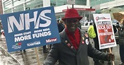 NHS London March 2018: Actor Ralf Little blasts Health ...