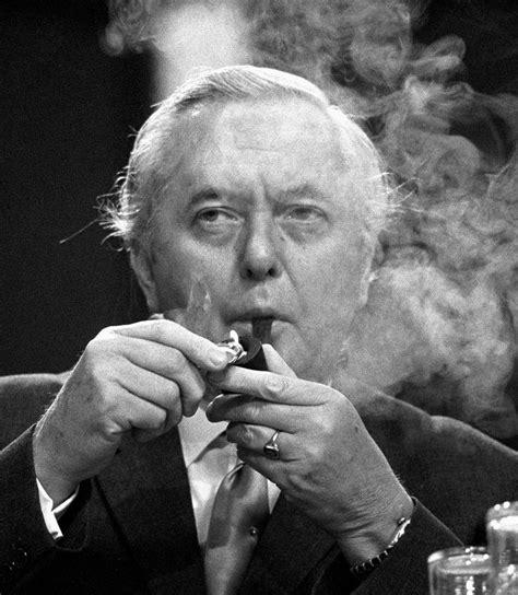 British Prime Minister, Harold Wilson. 1974   Politicians ...