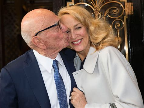 Jerry Hall Shares Family Picture from Wedding to Rupert ...