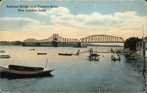 Railroad Bridge over the Thames River New London, CT