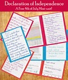 4th of July Freebie - Declaration of Independence Mini Unit ...