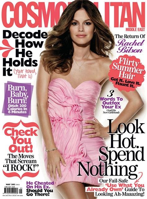 "Rachel in ""Cosmopolitan"" magazine. {Middle East - May 2012 ..."