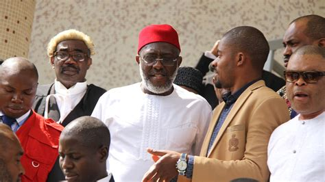 PHOTONEWS: PDP Spokesperson Olisa Metuh Stormed Court With ...