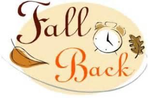 Fall Back Daylight Saving Time Clipart