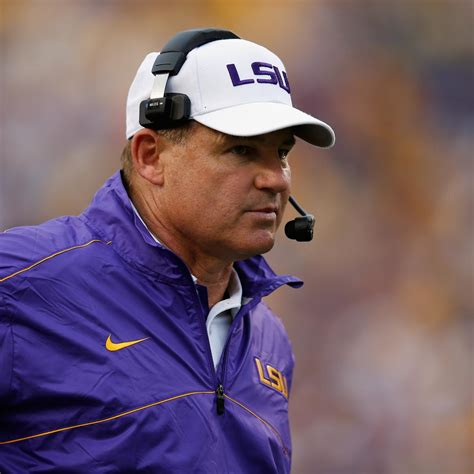 LSU Football: Les Miles' Holiday List | Bleacher Report | Latest News, Videos and Highlights