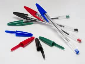 File:4 Bic Cristal pens and caps.jpg - Wikimedia Commons