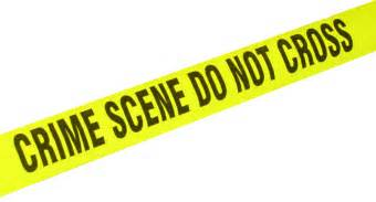 Crime Scene Tape Border Related Keywords & Suggestions - Crime Scene ...