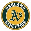 """Oakland Athletics Logo Roundel Mat - 27"""" Round Area Rug"""