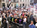 Anti-war march in London - Wikinews, the free news source