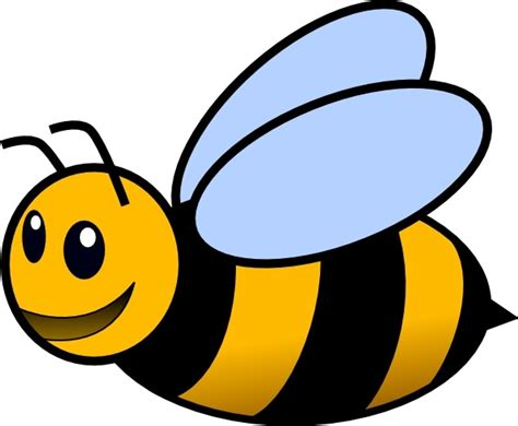Bee clip art Free vector in Open office drawing svg ( .svg ) vector ...