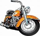 Harley davidson motorcycle clipart 2 - Clipartix