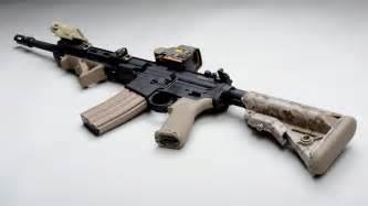 Automatic AR-15 Assault rifle wallpaper #19678