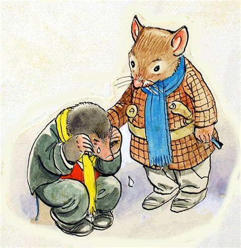 The Wind in the Willows: Rat comforts Mole by Philip ...