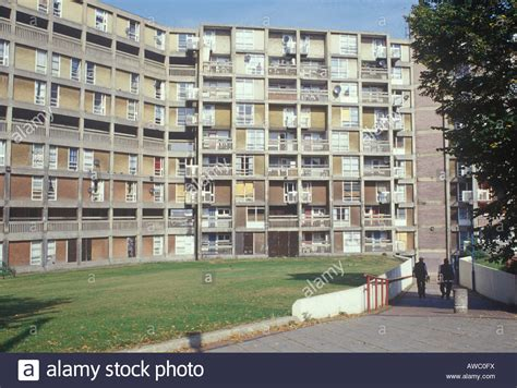 Park Hill Public Estate Sheffield. Built by Sheffield City ...