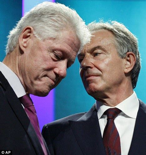 BILL CLINTON and Tony Blair - See best of PHOTOS of the ...