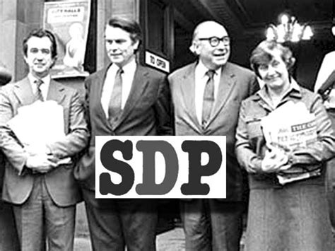 Feature: The SDP 'Gang of Four' - 30 years on from the ...