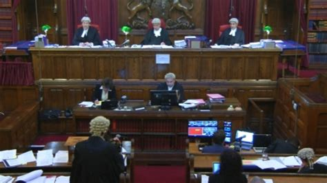 First TV pictures from inside Court of Appeal broadcast ...