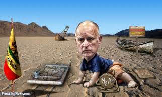 Jerry Brown in the Desert