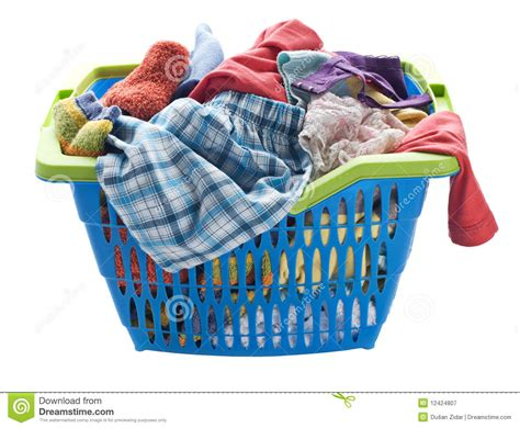 Laundry stock image. Image of basket, load, housework ...