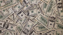 Money Falling Background ~ HD & 4K Stock Footage #22760323