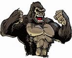 Free Animated Gorillas Gifs Page 2, Free Gorilla ...