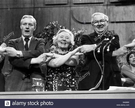 James Callaghan former Prime Minister with Tony Benn and ...