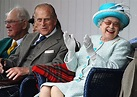 Queen very much amused as she attends Braemar Highland Games